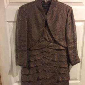 Jessica Howard formal Dress w/ Jacket Sz 12 EUC
